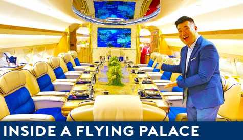 Take a look at the world's most luxurious private jet  (video)