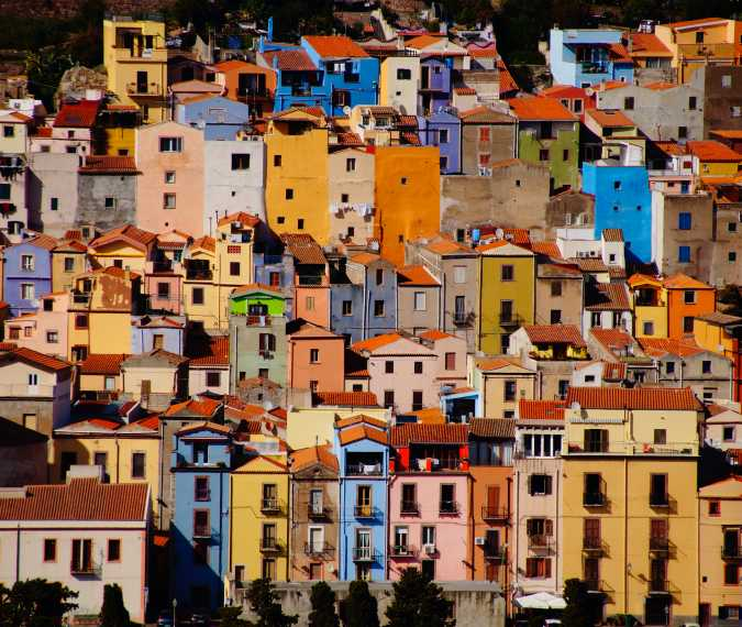 Bosa: one of the most colorful and beautiful villages in Italy