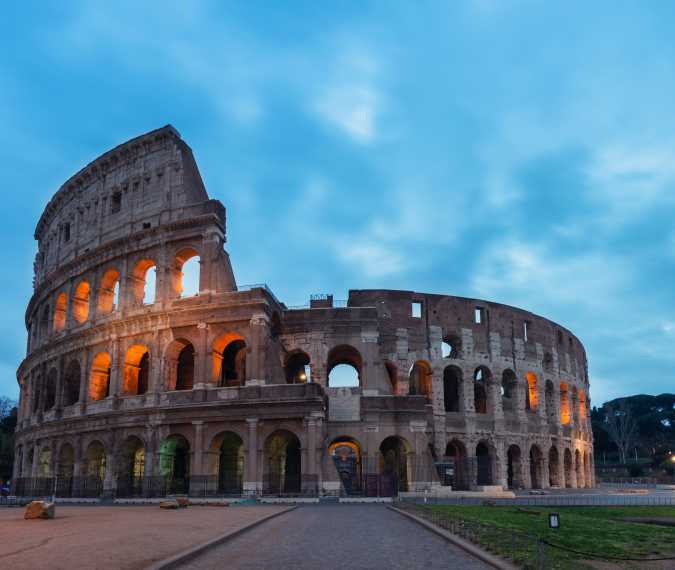 A magical tour of Rome in just 4 minutes