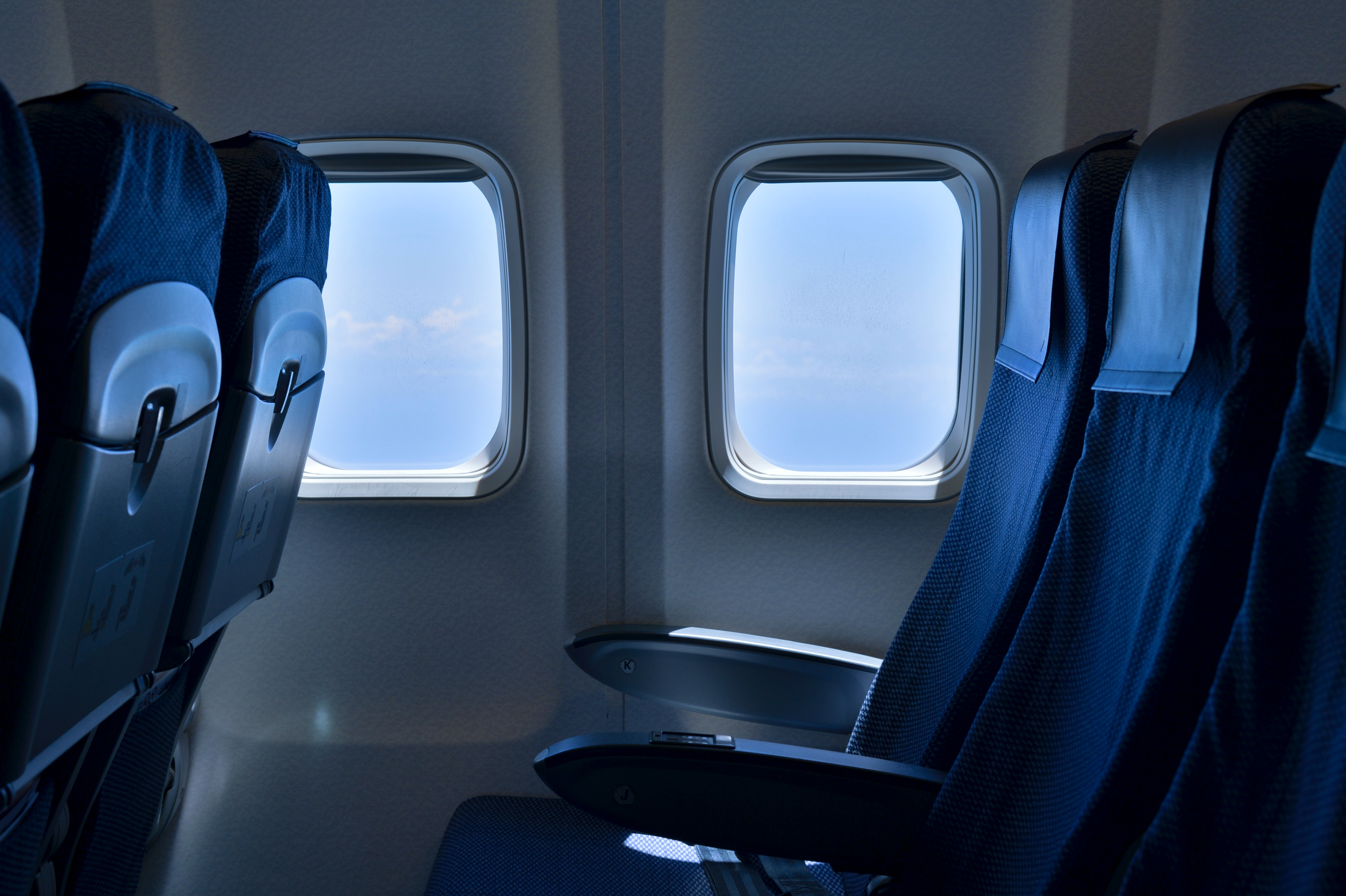 Did you know why most airplane seats are blue?