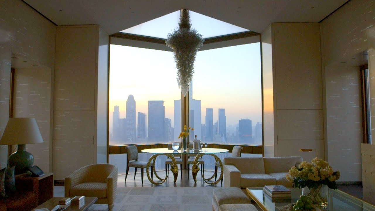 Inside the Most Expensive Hotel Room in New York City ($50,000 per night)
